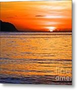 Tip Of The Sun Metal Print