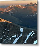 Tip Of The Tooth Metal Print