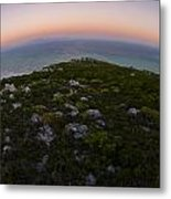 Tip Of The World Metal Print by Aaron Bedell