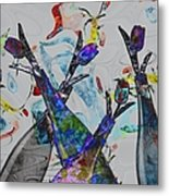 Tippy Tulips Metal Print