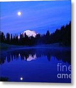 Tipsoe Lake In The Morn  Metal Print by Jeff Swan