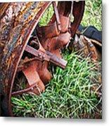 Ferrous Wheel Metal Print