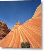 Tired Hiker Paria Wilderness Arizona Metal Print