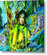 Titania-midsummers Night Dream Metal Print