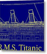 Titanic By Design Metal Print