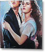 Titanic Jack And Rose Metal Print