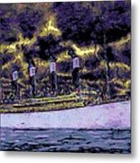 Titanic Screams Metal Print