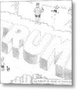 Title: The Formative Years At Rockaway Beach Metal Print