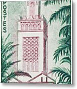 Tlemcen Great Mosque Metal Print