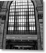 To All Trains Chicago Union Station Metal Print