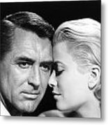 To Catch A Thief Cary Grant And Grace Kelly Metal Print