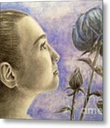 To Flower From Bud Metal Print