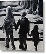 To Grandmothers House Metal Print