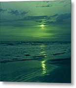 To Green To Be Blue Metal Print
