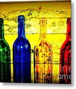 To Much Of Wine Metal Print