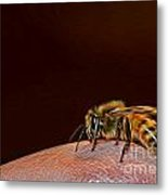To Sting Or Not To Sting II Metal Print