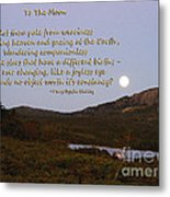 To The Full Moon Metal Print