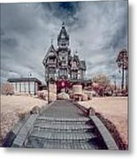 To The Mansion Metal Print