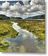 To The Ocean Metal Print