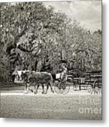 To The Stables Metal Print
