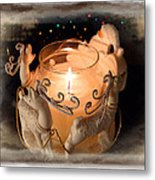 To The Top Of The Porch To The Top Of The Wall  Now Dash Away Dash Away Dash Away All Metal Print