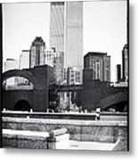 To The Towers 1990s Metal Print
