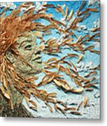 To The Wind Metal Print