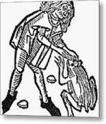 Toadstone, 1491 Metal Print