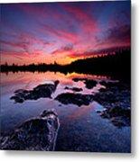 Tobermory Sunset 2 Metal Print
