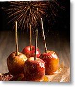 Toffee Apples Group Metal Print by Amanda Elwell