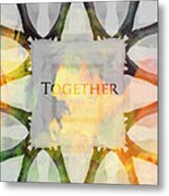 Together 2 Metal Print