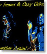 Together Again Metal Print