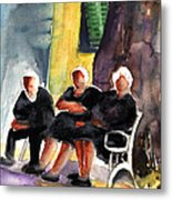 Together Old  In Italy 06 Metal Print