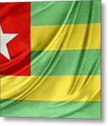 Togo Flag Metal Print