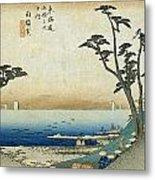 Tokaido - Shirasuka Metal Print