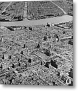 Tokyo, Japan, In Ruins After B-29 Metal Print