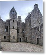Tolquhon Castle 4 Metal Print