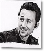 Tom Hiddleston 2 Metal Print