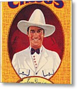Tom Mix On 1937 Poster Art Promoting Metal Print