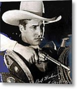 Tom Mix Portrait Melbourne Spurr Hollywood California C.1925-2013 Metal Print