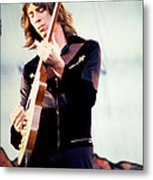 Tom Scholz Of Boston-day On The Green 1 In Oakland Ca 5-6-79 1st Release Metal Print by Daniel Larsen