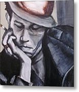 Tom Waits One Metal Print