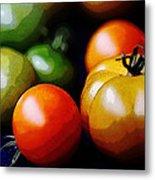 10044 Tomatoes Metal Print