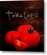 Tomatoes II Metal Print