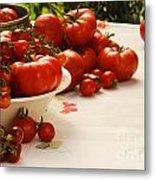 Tomatoes Tomatoes Metal Print
