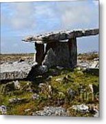 Tomb In Ireland Metal Print