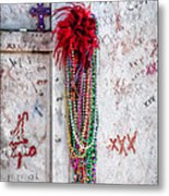 Tomb Of Marie Laveau New Orleans Metal Print