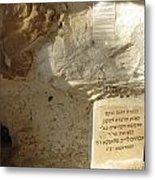 Tomb Of The Martyred Mother And Seven Children Metal Print