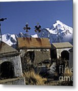 Tombs With A View Metal Print