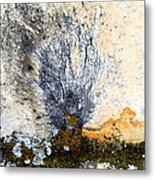 Tombstone Abstract Metal Print